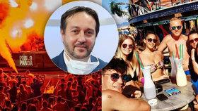 Epidemiolog Rastislav Maďar a letošní letní party v Zrče v Chorvatsku