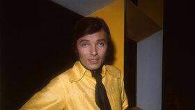 Karel Gott v roce v roce 1970
