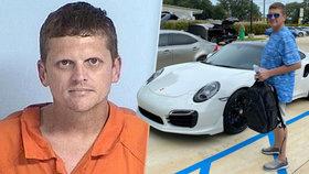 Podvodník si doma tiskl falešné šeky: Pořídil si za ně luxusní Porsche za 3 mega!