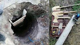Matka z Ukrajiny se snažila vykopat tunel pod vězení, kde si odpykává doživotní trest její syn.