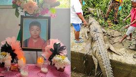Ricky Ganya (†14) se stal obětí krokodýla.