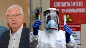 Senátor Jiří Drahoš a testy na koronavirus v Česku