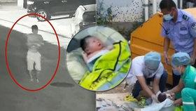 Otec vyhodil v Číně novorozenou dceru do odpadků.