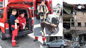 Do Bejrútu odlétají čeští záchranáři. Jsou mezi nimi psovodi i experti na statiku.