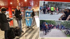 Masakr na dovolené v Česku: Turisté se děsí davů na oblíbených místech