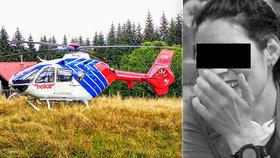 Lidé nechávají na sociálních sítích dojemné vzkazy mrtvé Lucii, kterou po třech dnech našli v Rovensku pod Troskami.