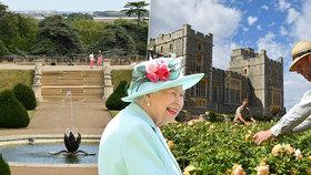 Jedno ze sídle britské královny Alžběty II. se otevře veřejnosti.