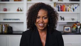 Bývalá první dáma USA Michelle Obamová.