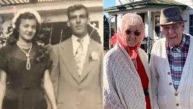Manželé, kteří spolu byli 70 let, zemřeli jen pár minut po sobě.