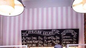 Zmrzlinu prodával Honza Hochsteiger i v roušce.