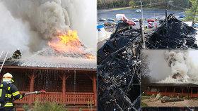 Obrovský požár oblíbené restaurace na cestě z Prahy do Mladé Boleslavi má již svého obviněného.