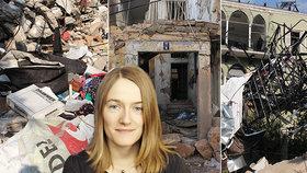 Lenka pomáhá obyvatelům Bejrútu vyrovnat se s výbuchem, který ochromil celé město.