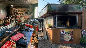 Oblíbený bar na Litoměřicku vyhořel: Za útokem zřejmě stojí žhář!