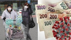 České domácnosti pandemii koronaviru po finanční stránce přečkaly překvapivě dobře.