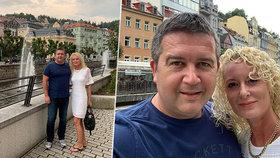 """Vicepremiér Hamáček vyrazil s novou ženou Gabrielou Kloudovou na """"líbánky"""" do Varů"""