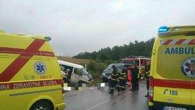 Nehoda u Liptovského Mikuláše.
