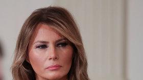 První dáma USA Melania Trumpová.