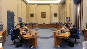 Jednání vlády ve Strakově akademii. (24.8.2020)
