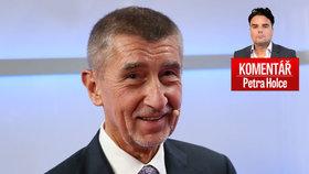 Petr Holec komentuje počínání premiéra Andreje Babiše (ANO) kolem snížení daně z příjmu a příspěvku pro seniory.