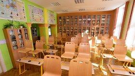 Příprava na začátek školního roku v základní škole Mozartova v Olomouci.