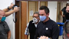 Podnikatel Marian Kočner u soudu kvůli vraždě Jana Kuciaka (3.9.2020)
