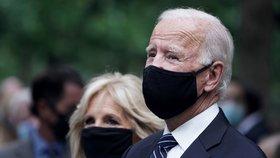 Biden a Pence si v New Yorku připomněli oběti útoků z 11. září (11. 9. 2020).