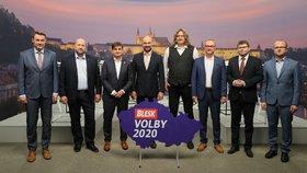 Předvolební debata Blesku o dopravě (15. 9. 2020)