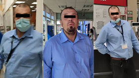 Tomáš člena ochranky upozornil, aby si nasadil roušku. Odpovědí bylo napadání a výhrůžky.