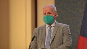Epidemiolog a zmocněnec pro vědu a výzkum ve zdravotnictví Roman Prymula