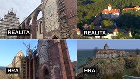 V Česku se rozmohla videoherní turistika: Hráči vyráží na místa, která znají z her.