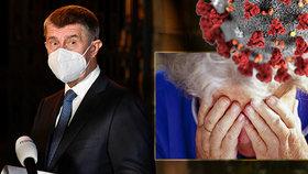Podle Babiše by se Češi neměli děsit koronaviru, chce uklidnit veřejnost.