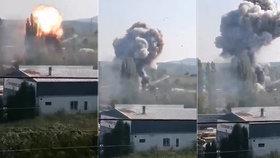 Výbuch v Bílině