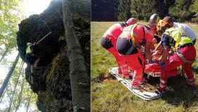 Video natočilo Slováka při pádu z ferraty: Nemuselo se to stát, zbytečně riskoval!