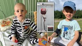 Kryštof vyhrál namáhavý boj s leukémií. Diagnostikovaná mu byla v osmi měsících