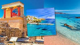 Teplo si na Krétě užijete až do konce října.