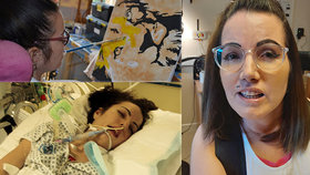 Máma (39) si při skákání hvězdy roztrhla tepnu a zůstala ochrnutá: Šest let psala knihu svýma očima!