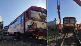 V Kunovicích se srazil vlak s traktorem: Zranilo se pět lidí