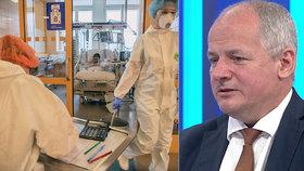 """Epidemiolog Roman Prymula v neděli zkritizoval """"odborníky""""."""