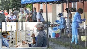 V Česku rychle přibývá zdravotníků nakažených koronavirem.