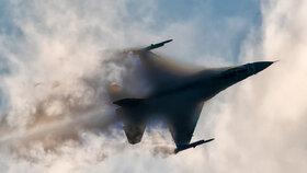Polská stíhačka F-16 (ilustrační foto)