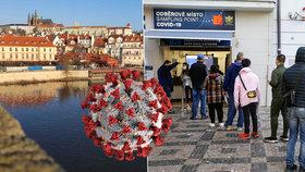 Koronavirus v Praze.