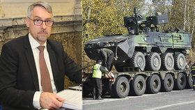 Ministerstvo obrany obnovilo smlouvu na servis bojových vozidel Pandur