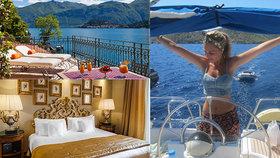 """V Británii zpřísňují restrikce, Johsonova """"vydřička"""" si ale užívá dovolené v italském luxusním hotelu"""
