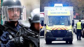 Při útoku u bývalé redakce časopisu Charlie Hebdo byli zraněni dva lidé. Útočník byl podle nových policejních informací jeden, podezřelý byl zatčen.