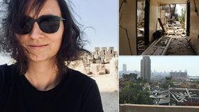 Denisa pomáhála v Bejrútu po dvou ničivých explozích