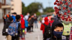 Zavření škol by podle analýzy snížilo reprodukční číslo jen málo.