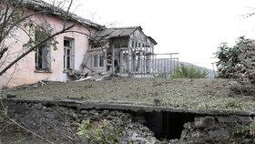 Boje v oblasti Náhorního Karabachu pokračovaly i v noci na pondělí 28.9.2020.