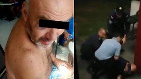 Český řidič promluvil o tom, jak ho v Maďarsku uhodil policista.