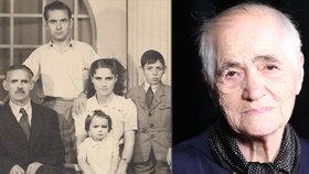 Paní Karadžu uprchla z Řecka a usídlila se v Československu.