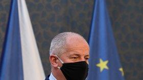 Ministr zdravotnictví Roman Prymula po jednání vlády. (30.9.2020)